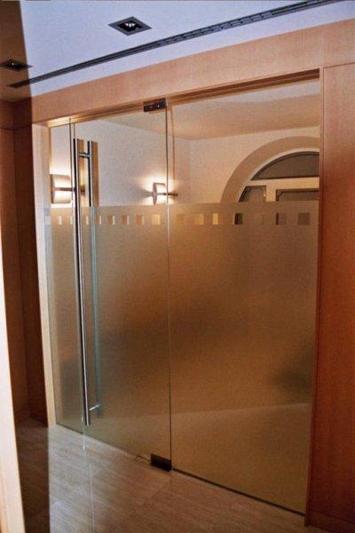 Cerramientos interiores cristaleria galindo teruel for Cerramiento vidrio