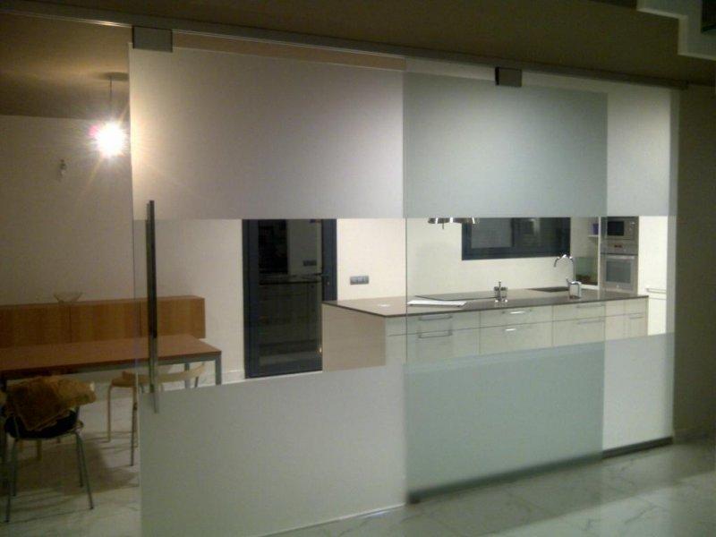 Cerramientos interiores cristaleria galindo teruel for Cerramientos de interiores