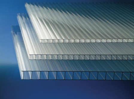 Policarbonato celular cristaleria galindo teruel - Techo transparente policarbonato ...